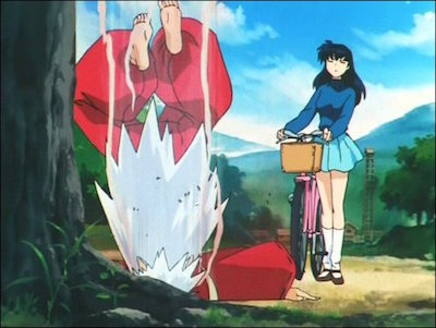 "InuYasha and Kagome ""Sit Boy"""