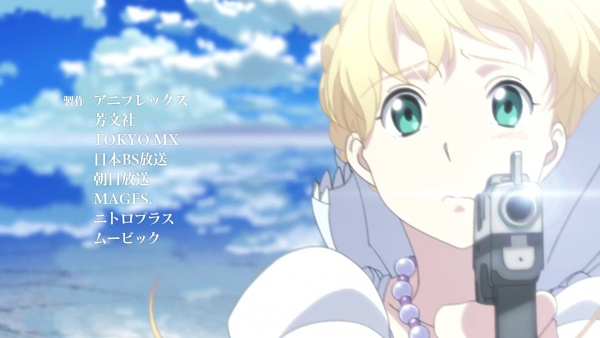 Aldnoah.Zero Heavenly Blue Kalafina anime openings beautiful blue anime sky motif