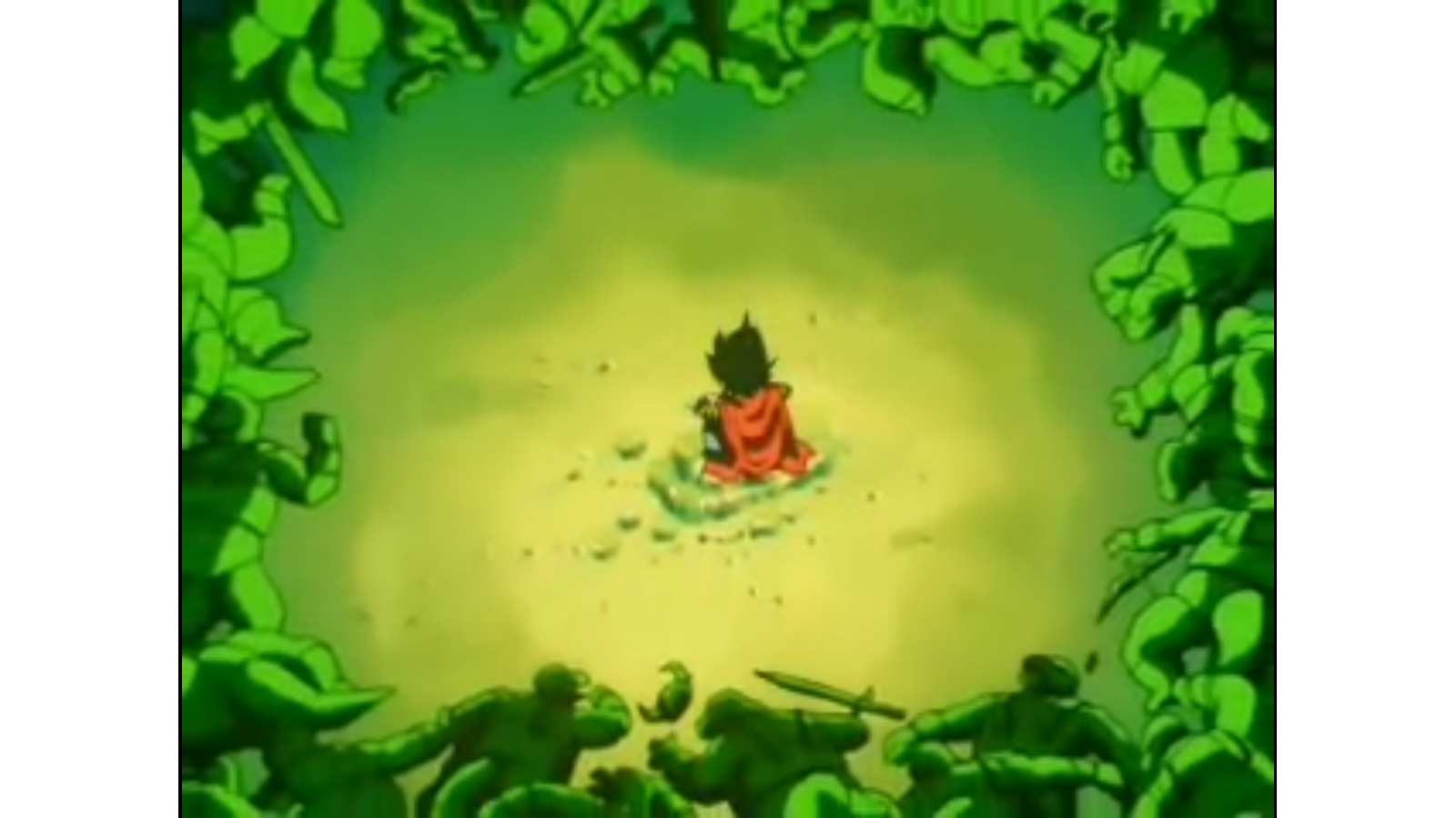 Dragon Ball Z Little Vegeta