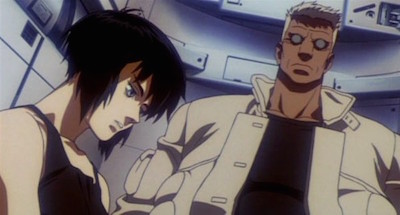 Ghost in the Shell Major Motoko Kusanagi Batou