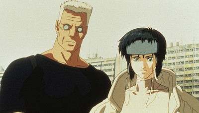 Ghost in the Shell Batou Major Motoko Kusanagi