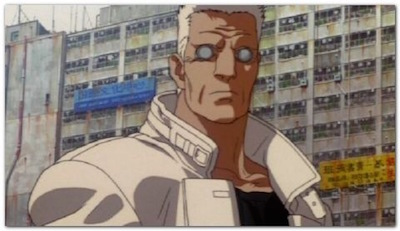 Ghost in the Shell Batou City