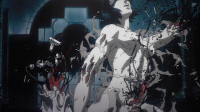 Ghost in the Shell Exploding Body