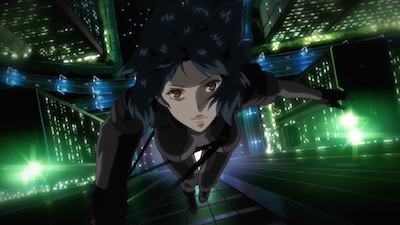 Ghost in the Shell Falling Major Motoko Kusanagi