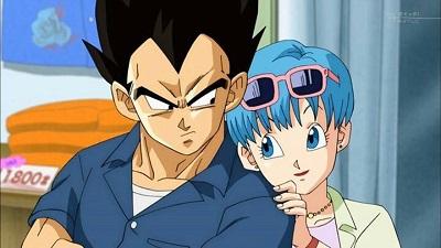 Dragon Ball Super Vegeta & Bulma