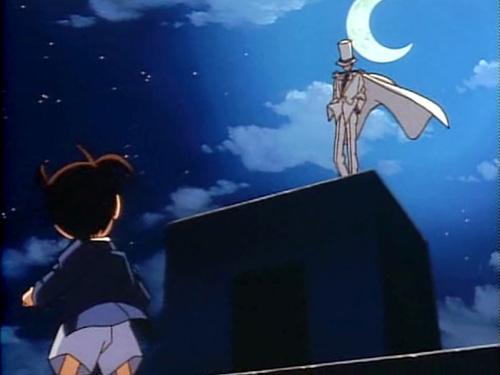 Detective Conan Conan Edogawa and Kaitou Kid