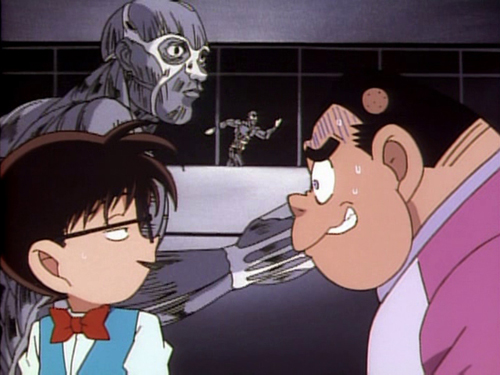 Detective Conan Conan Edogawa and Genta Kojima