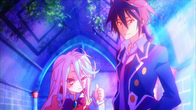 No Game No Life Sora and Shiro 3