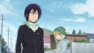 Noragami anime Yato delivery god