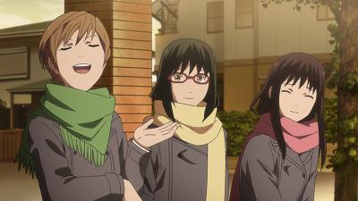 Noragami anime Akira Yamashita school friend