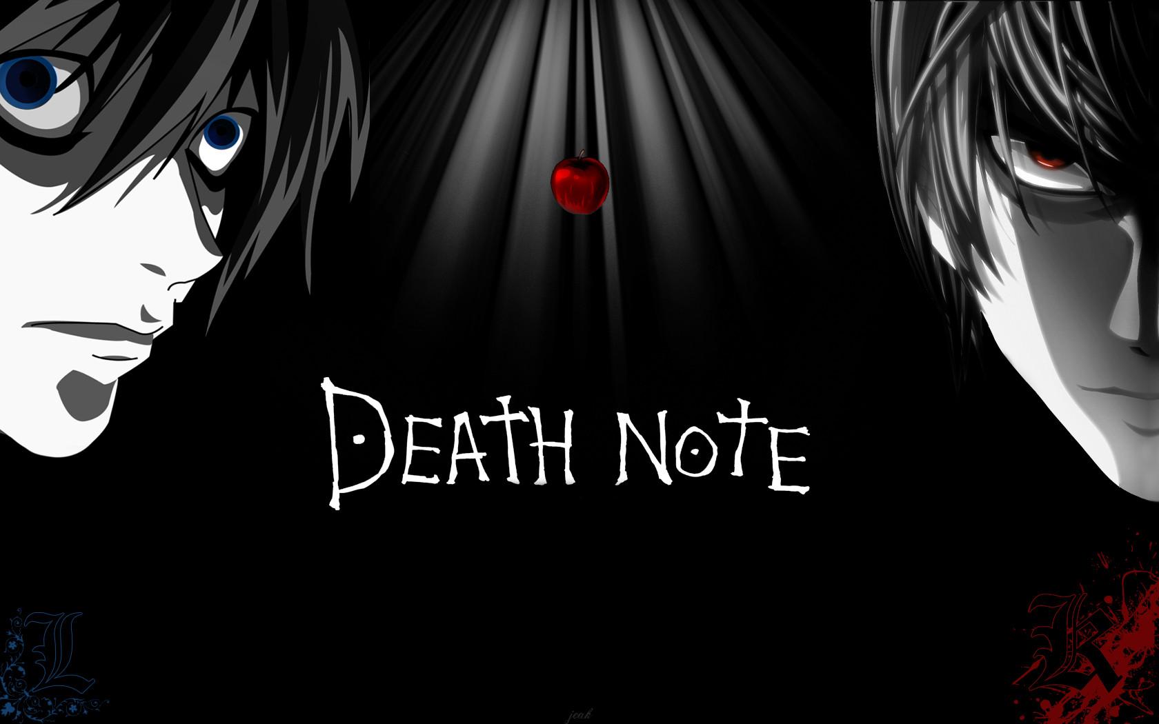 Death Note Title - Light Yagami & L Lawliet