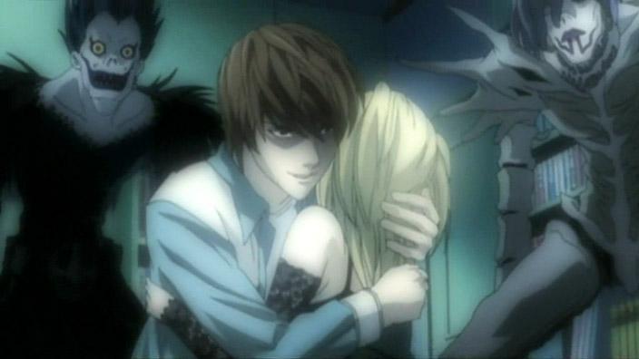 Death Note Ryuk, Light Yagami, Misa Amane & Rem