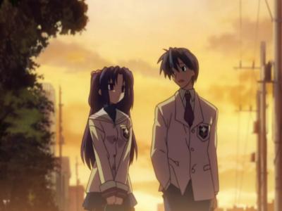 Clannad Kotomi Ichinose and Yomotya Okazaki