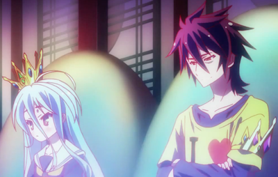No Game no Life Sora and Shiro 6