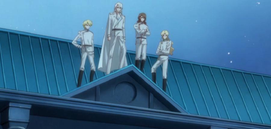 Bishoujo Senshi Sailor Moon Crystal Dark Kingdom Group