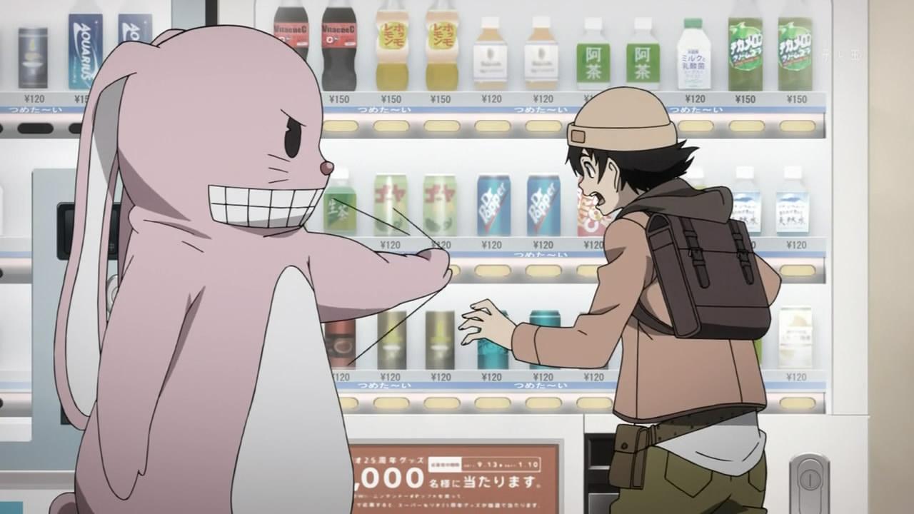 mirai nikki vending machine