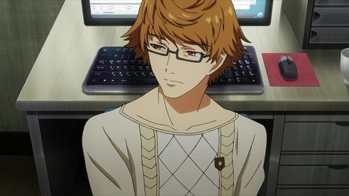 Top 15 Anime Guys Boys With Glasses On Mal Myanimelist Net