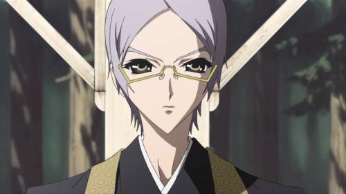 Megane Danshi Seishin Muroi Shiki glasses