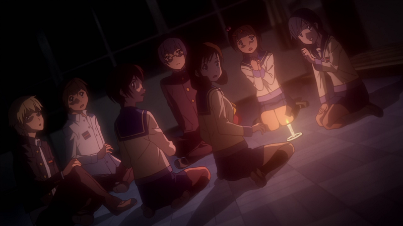 Corpse Party Tortured Souls gore scary anime horror anime