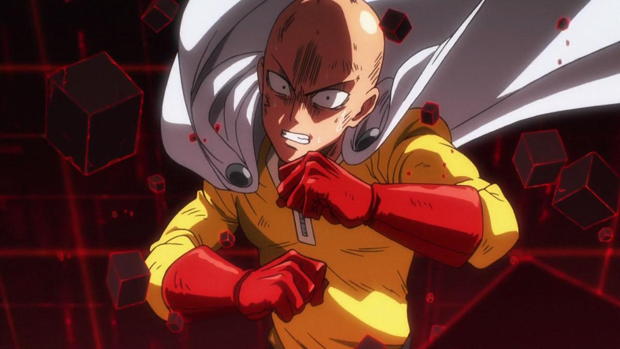 One Punch Man Saitama rawr