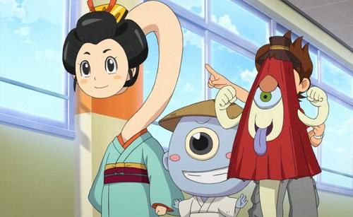 Strange Creatures from Japanese Folklore Youkai Watch Rokurokubi