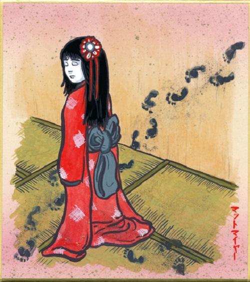Strange Creatures from Japanese Folklore Zashiki Warashi