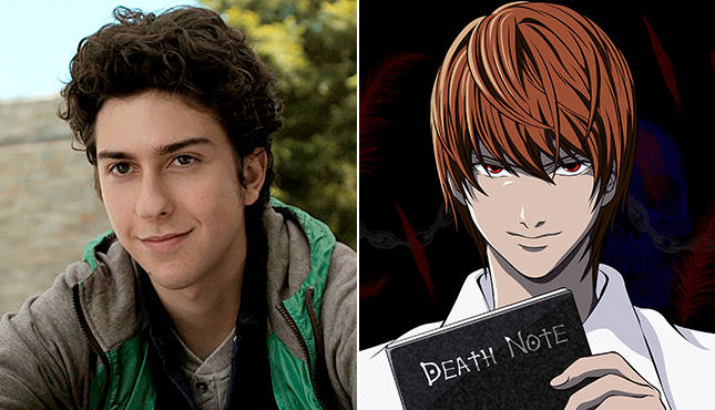 Death Note Nat Wolf and Light