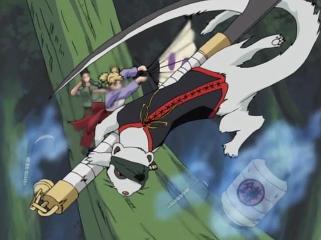 temari kamaitachi Naruto