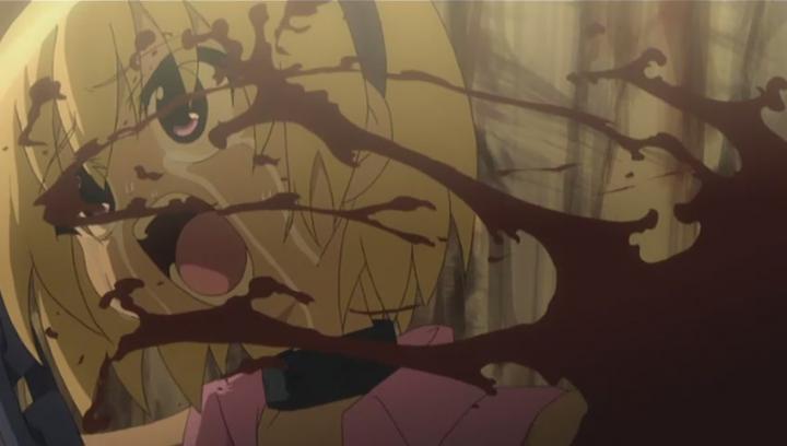 Higurashi no Naku Koro Ni Satoko gore scary anime horror anime