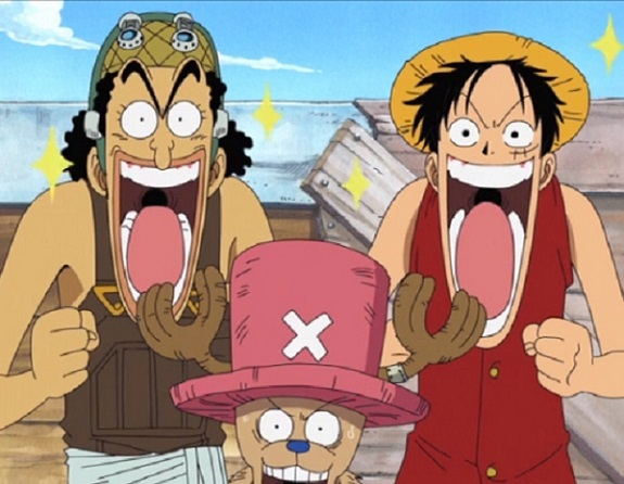 One Piece Luffy and Usopp