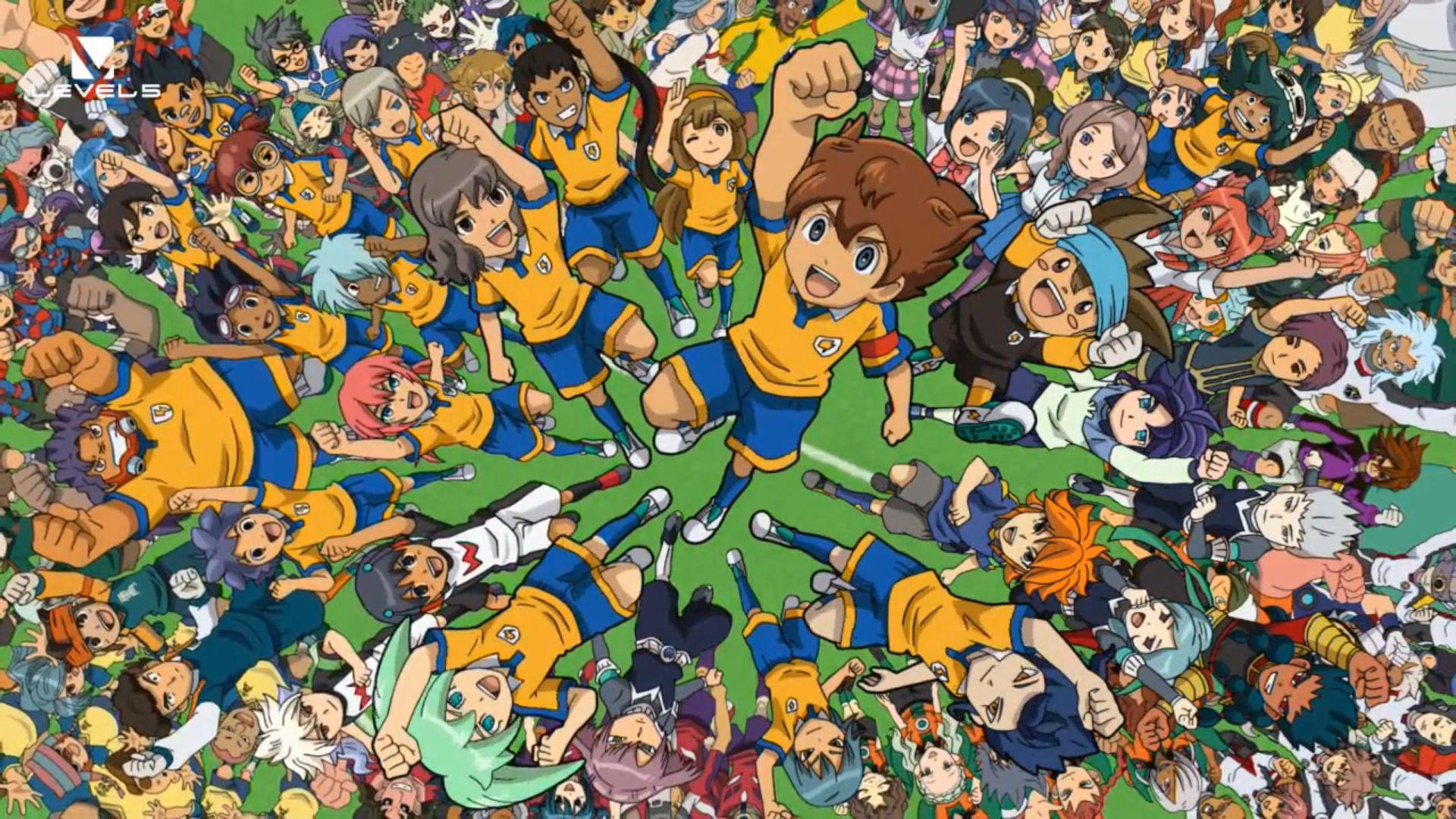 Inazuma Eleven Team picture