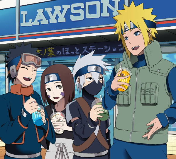 konbini Lawson Naruto