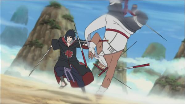 Naruto Shippuden_Taka vs. Killer Bee