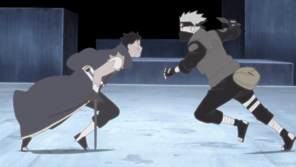Naruto Shippuden_Kakashi Hatake vs. Obito Uchiha