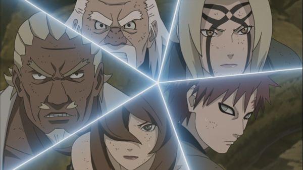 Naruto Shippuden_Madara Uchiha vs. The Five Kage