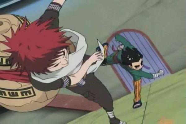 Naruto_Rock Lee vs. Gaara