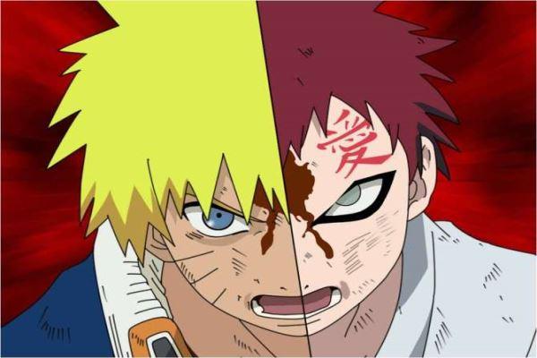 Naruto_Naruto Uzumaki vs. Gaara