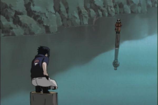 Naruto_Naruto Uzumaki vs. Sasuke Uchiha
