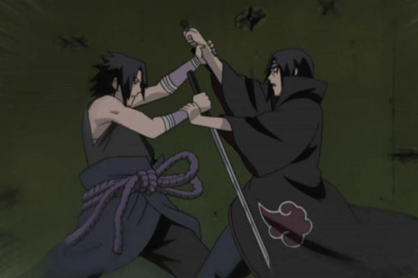 Naruto Shippuden_Sasuke Uchiha vs. Itachi Uchiha