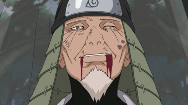 Naruto_Hiruzen Sarutobi