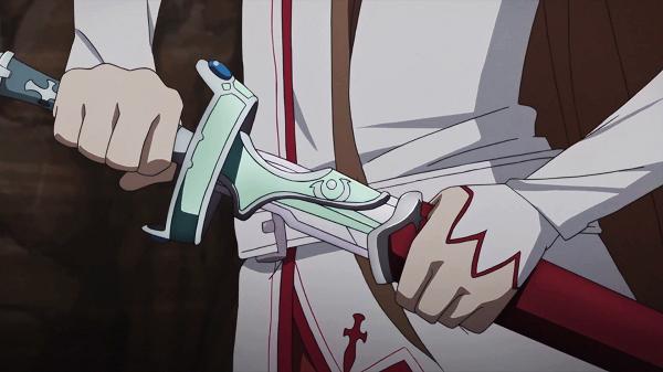 Sword Art Online Powerful Swords Kirito Lambent Light Asuna sword