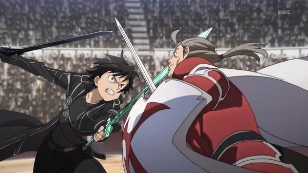 Sword Art Online Powerful SwordsKirito Dark Repulser sword fight