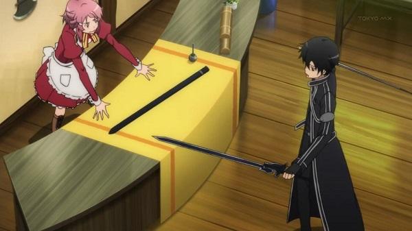 Sword Art Online Powerful SwordsKirito Elucidator sword