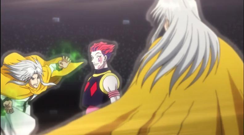 Hunter x Hunter Hisoka vs Kastro