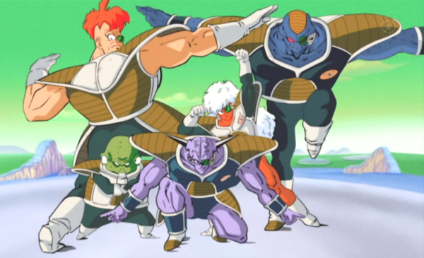 Dragon Ball Z Ginyu Force