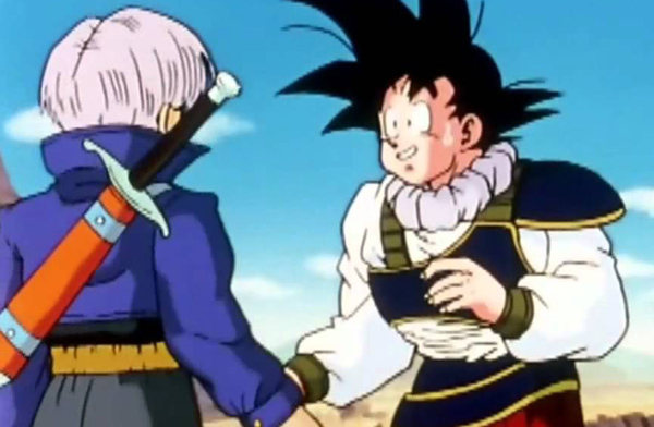 Dragon Ball Z Trunks and Goku