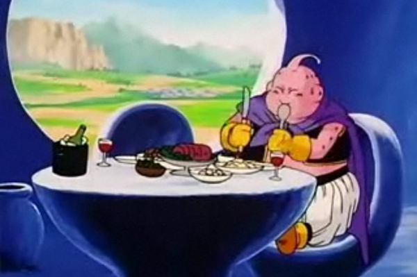 Dragon Ball Z Majin Buu