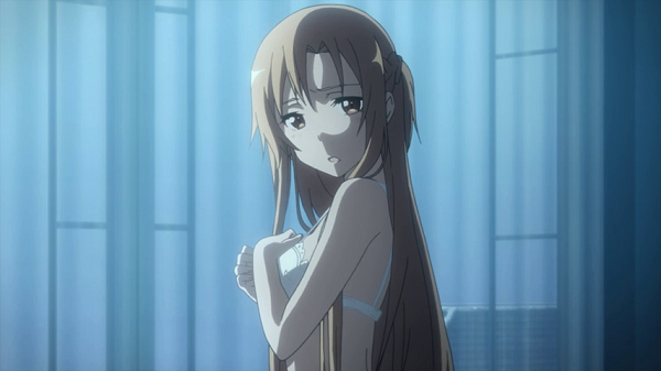 Hot Moments Sword Art Online Kirito Asuna undressed