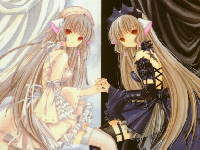 Sexy anime twins