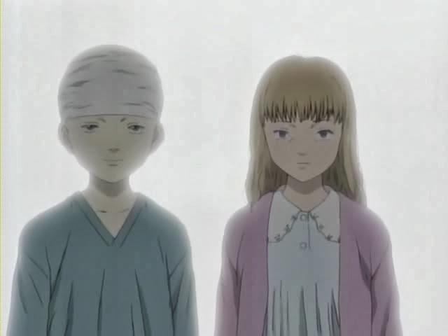 Johan and Anna Monster anime twins